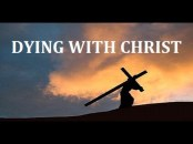 Dying with Christ